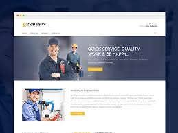 Html5 Website Templates Delectable Fontanero Free Responsive Plumbing Construction Repair HTML28