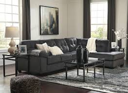 accrington granite laf sofa raf corner chaise sectional laney table set