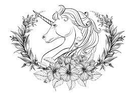 Unicorni 59755 Unicorni Disegni Da Colorare Per Adulti