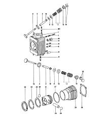 porsche 914 parts 914 6 cylinder head cylinder piston
