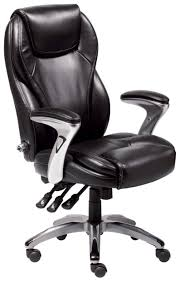fancy idea serta office chairs serta ergo executive office chair bonded leather black by