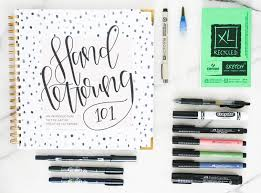 How to create your own hand lettering kit
