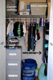tips for organizing a baby or child s closet