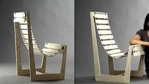 Beautiful Unique Wood Chair Stitches On Furniture And Wooden Home Decorations Throughout Innovation Design