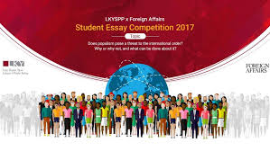 student essay competition foreign affairs