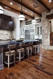 Basement Interior Design Fascinating Shabby Chic Furniture Rustic Wood Brick Stone Wall Design Modern
