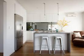 Freedom Furniture Kitchens Freedom Kitchens Caesarstone Sleek Concrete Modern Industrial