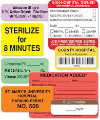 Custom Labels Healthcare Healthcare United Ad Label