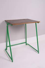 children 039 s vintage school exam desk with green metal legs