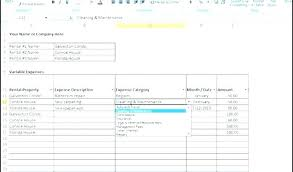 Expense Spreadsheet Template Excel Income And Expense Worksheet Template
