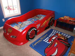 Lightning Mcqueen Bedroom Furniture Lightning Mcqueen Sports Car Twin Bed Little Tikes Replacement Parts