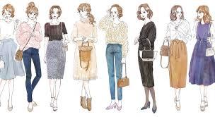 街コンに女性が着ていくべき服装ガイドイラストで解説マイナビ