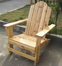 outdoor timber chair designs