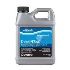 custom building s aqua mix enrich n seal 24 oz penetrating sealer ames24z oopes