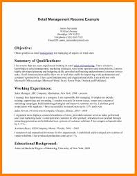 Resume Professional Summary Examples 100 resume summary examples for retail letter signature 65