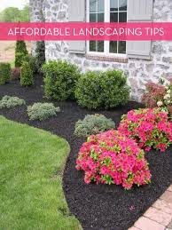 Landscaping Design Ideas For Front Of House 13 Tips For Landscaping On A Budget Landscaping Tipsfront Yard Landscapingoutdoor Landscapingoutdoor Decorfront