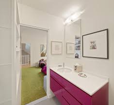 Framed Art Bathroom Pink Bathroom Bathroom Contemporary With Framed Art Stainless