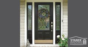 how to clean entry doors