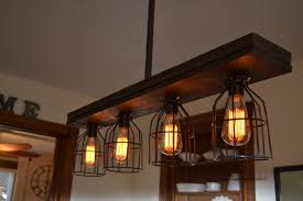 wood ceiling lighting. Triple Wood 4-Light Kitchen Island Pendant Ceiling Lighting
