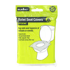 Disposable Toilet Disposable Toilet Seat Covers X 10 Flushable Travel Health