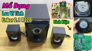 Bung Loa Vi Tính Enkor 2.1 R228, xem Bo Mạch và Củ Loa có chất lượng không  ? - YouTube