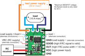 rc wiring diagram wiring diagram for you • pololu wiring diagram for rc switch medium low side mosfet rh pololu com rc servo wiring diagram rc plane wiring diagram