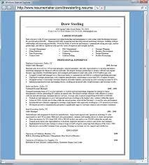 Professional Resume Maker 21 Pro Resume Builder Online For Freshers