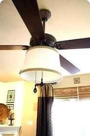ceiling fan globes home depot drum shade ling fan shades adding a to from thrifty decor