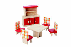 plan toys dollhouse furniture  dining room