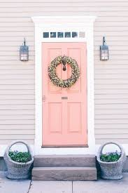 best paint for front doorProsecco and Plaid Colorful Doors Newport RI  ExteriorLove