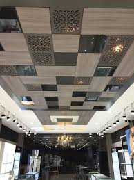 office false ceiling. False Ceiling Types Or Materials With Pop Designs Alson Gypsum Board Office