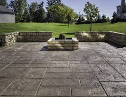 awesome decorative concrete patio cost internetunblock us pics of