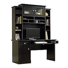 office depot desk hutch. Sauder Conrad Computer Desk And Hutch Estate Black Office Depot L