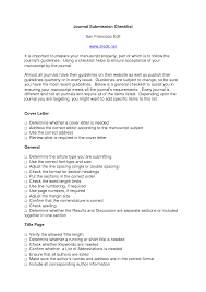 Cover Letter Journal Example Huanyii Com