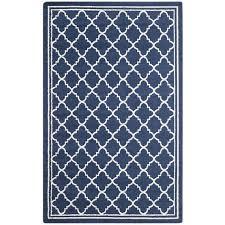 safavieh amherst navy indoor outdoor rug 8 x 10