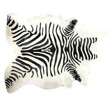 zebra cowhide rug mesmerizing zebra cowhide rug black off white zebra cowhide rug a liked on