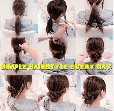 simple hairstyle every day 1 simple hairstyle every day 2
