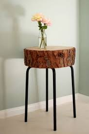 furnitures unique and antique reclaimed tree trunk tables for natural furniture modern slice tree trunk