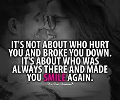 Romantic Love QuoteAlways Made You Smile Again Quotespictures Inspiration Romantic Quotes Ani