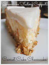 Cheesecake Factory Carrot Cake Cheesecake Copycat Recipe Momspark