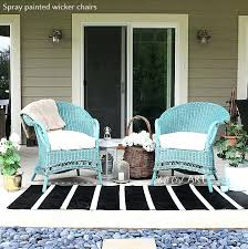 Superior Painting Wicker Chairs What Kind Of Paint To Use On Furniture Best Old Ideas  Rattan .