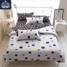 queen size duvet covers batman mask print bedding set cartoon style white color kids twin full queen size duvet covers