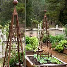 garden obelisk trellis. Pyramid Trellis Garden Obelisk Tower Antique S