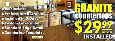 average cost of granite countertops per square foot installed quartz per square foot quartz per