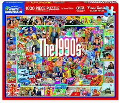 Saying no will not stop you from seeing etsy ads, but it may make them less relevant or more repetitive. The Nineties 1000 Piece Jigsaw Puzzle White Mountain Puzzles
