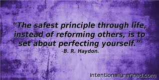 Self Improvement Quotes 44 Wonderful Self Improvement Quotes B R Haydon Intentionally Refined