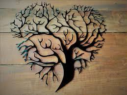 1 on brown metal tree wall art with metal tree of life metal tree tree wall art tree wall decor tree