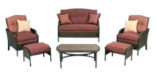 martha stewart living patio set furniture wicker outdoor replacement cushions