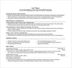 Python Developer Resume Sample Best Of Programmer Resume Template 24 Free Word Excel PDF Format