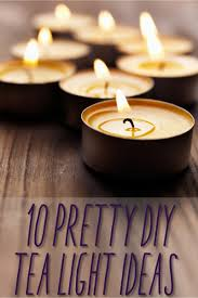 Craft Projects Using The T Light Candles 10 Diy Tea Light Holders You Put It Up